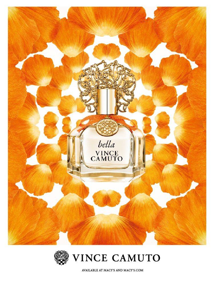 VINCE CAMUTO文斯卡穆托橙光女性淡香精,引領你進入義大利的陽光花園,享...