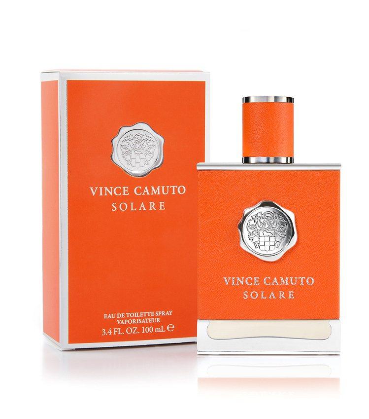 VINCE CAMUTO 文斯卡穆托烈日男性淡香水,橘色包裝呈現豐盈熱情的生命力...