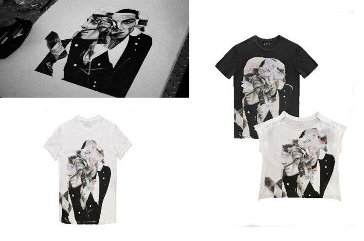 AllSaints在情人節推出台灣獨家限量T恤,把象徵東倫敦靈魂的塗鴉藝術呈現於...
