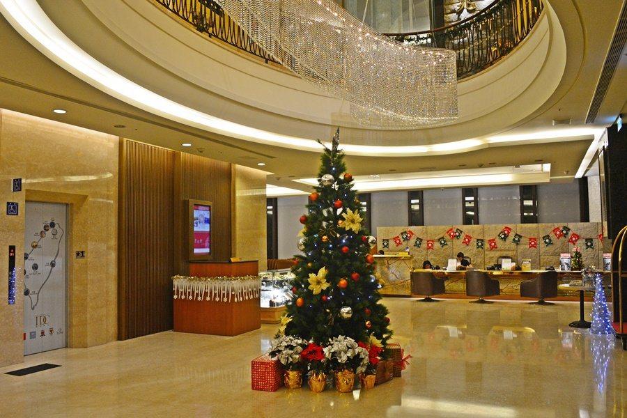 台中兆品酒店帶著濃厚的法式古典風情,提供精緻而溫暖的度假氛圍。 記者趙惠群/攝影
