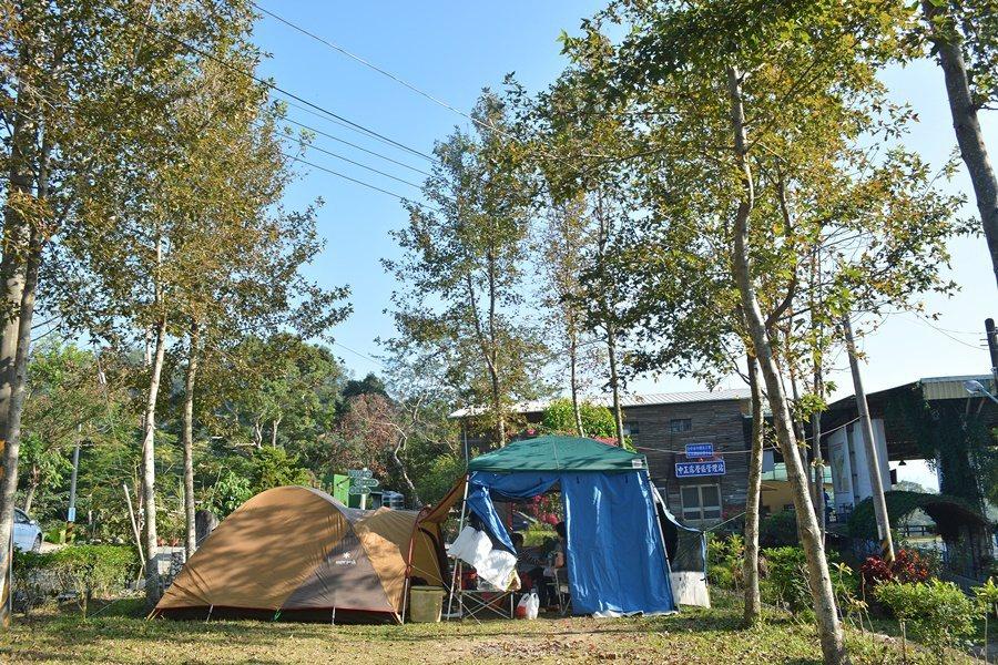 四號步道起點中正露營區。