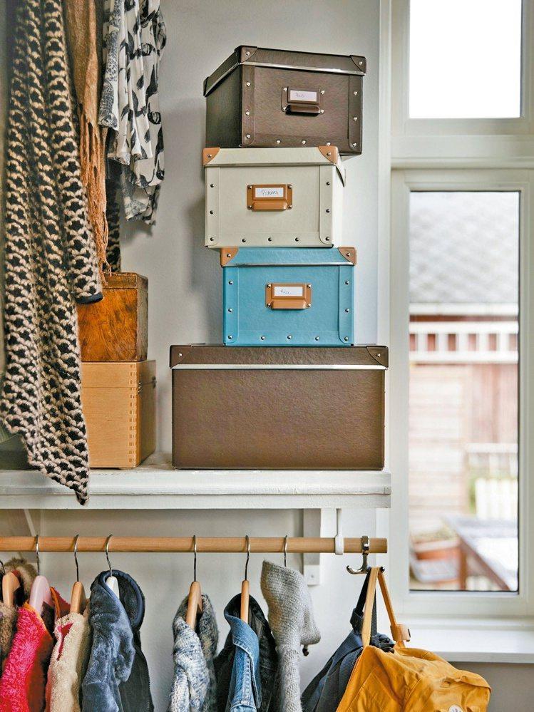 根據居家空間大小及環境挑選收納櫃,更能快速收納。 IKEA/提供