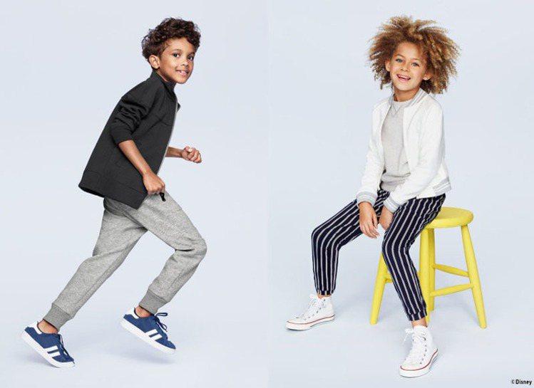 外套是最能夠立即變身小大人的單品,男孩尤其適合西裝外套。圖/UNIQLO提供