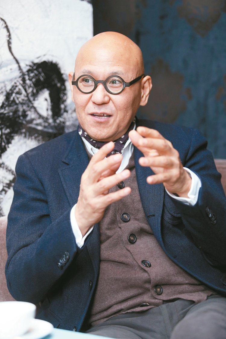 國際空間設計大師Tony Chi季裕棠。 記者陳瑞源/攝影