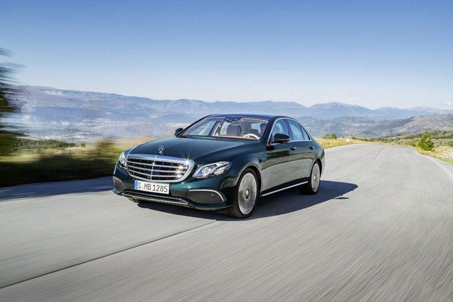 今年將在台上市的賓士E系列未來將配二氧化碳空調。 圖/Mercedes Benz提供