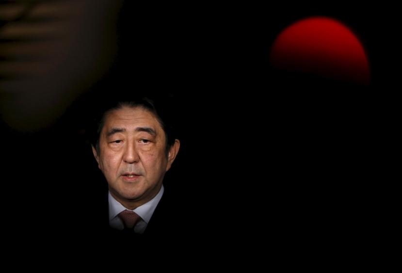 「華麗一族」之子,日本現任首相安倍晉三。 圖/路透社