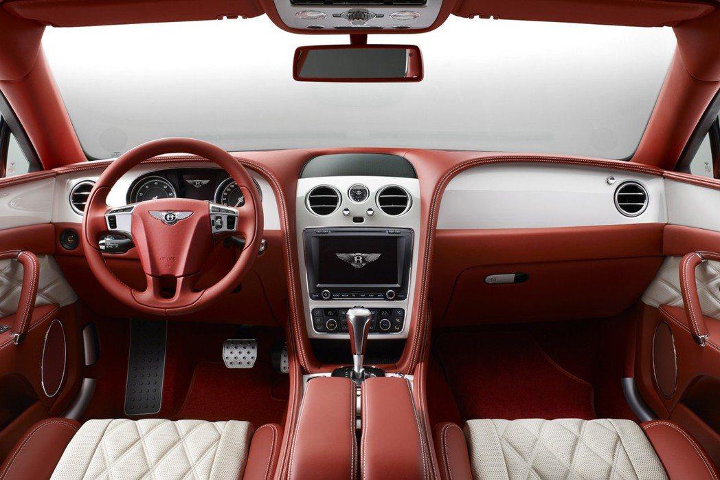 Flying Spur推出Mulliner客製化座艙,提供客戶訂製專屬的內裝特色。 摘自Bentley.com