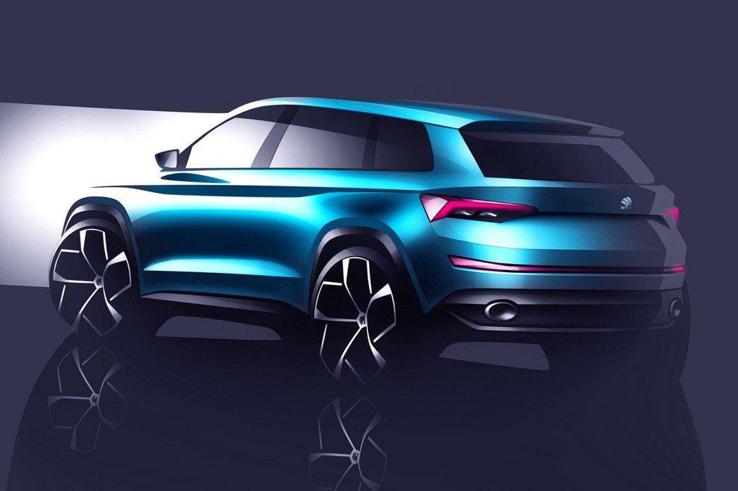 外觀方面導入許多Skoda未來的家族面貌,猛然一看帶有幾分VisionC concept概念車的風格。 摘自Skoda.com