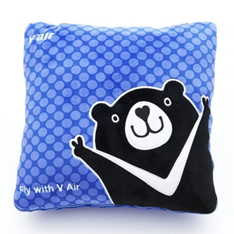 威熊收納毛毯枕,原價899元、特價799元。圖/PChome24h購物提供