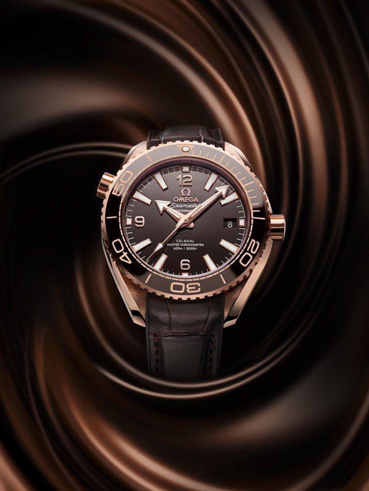 Planet Ocean 600M腕表結合了瑞士聞名世界的製表工藝與巧克力兩個象...