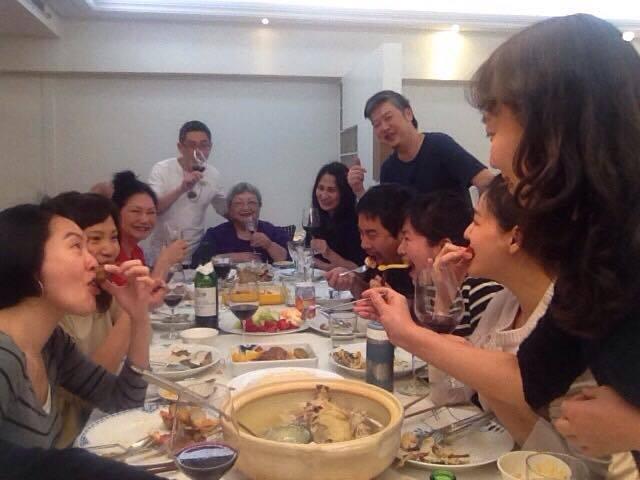 徐家人和親友的聚會一向充滿了歡樂氣氛。圖/大S臉書
