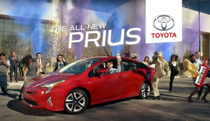 Toyota Prius廣告。 圖/截自影片