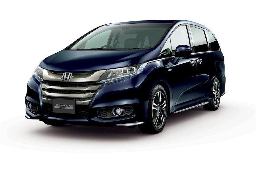 Honda Odyssey Hybrid在日本正式上市。 Honda提供