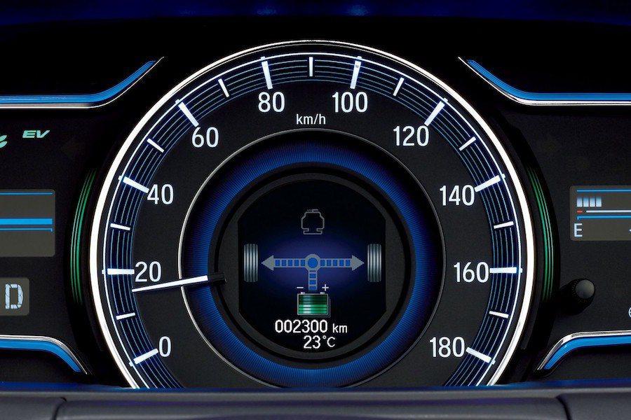 Hybird系統的運作狀況可從儀表上完全掌握。 Honda提供