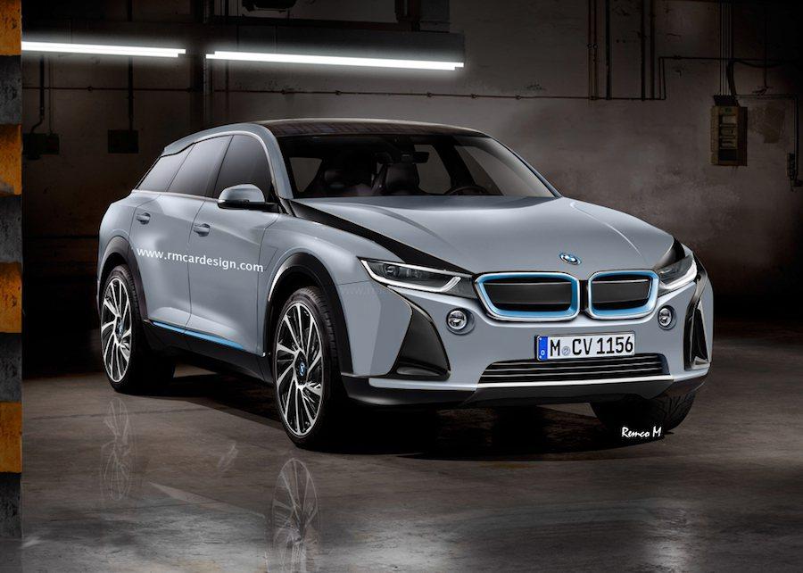 BMW有可能會推出i5與其對手Tesla Model X相抗衡。(照片為示意圖) 摘自rmcardesign.com
