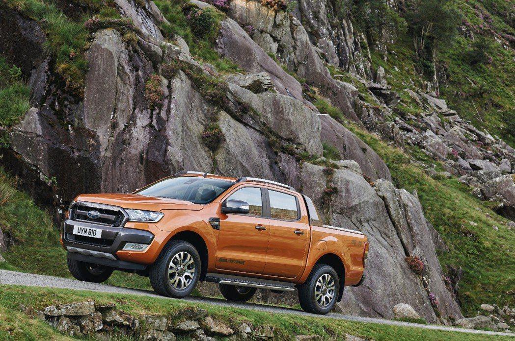New Ford Ranger運動皮卡正式上市。 圖/福特六和提供