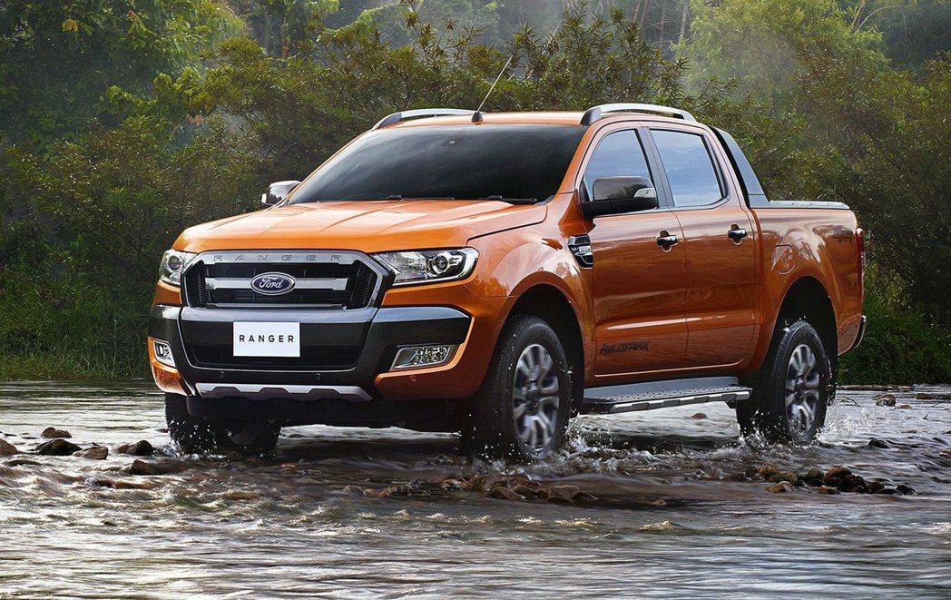 New Ford Ranger提供200匹最大馬力和47.9公斤米峰值扭力。 圖/福特六和提供