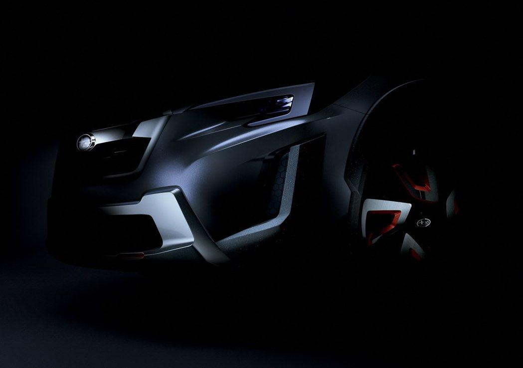 Subaru XV concept。 圖/Subaru提供