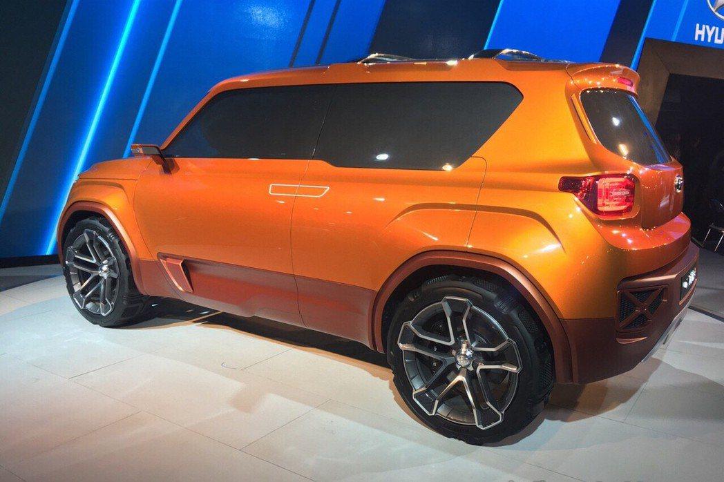 從Hyundai公布的官方照片來看,車輛長度將低於4000mm。 摘自Hyund...