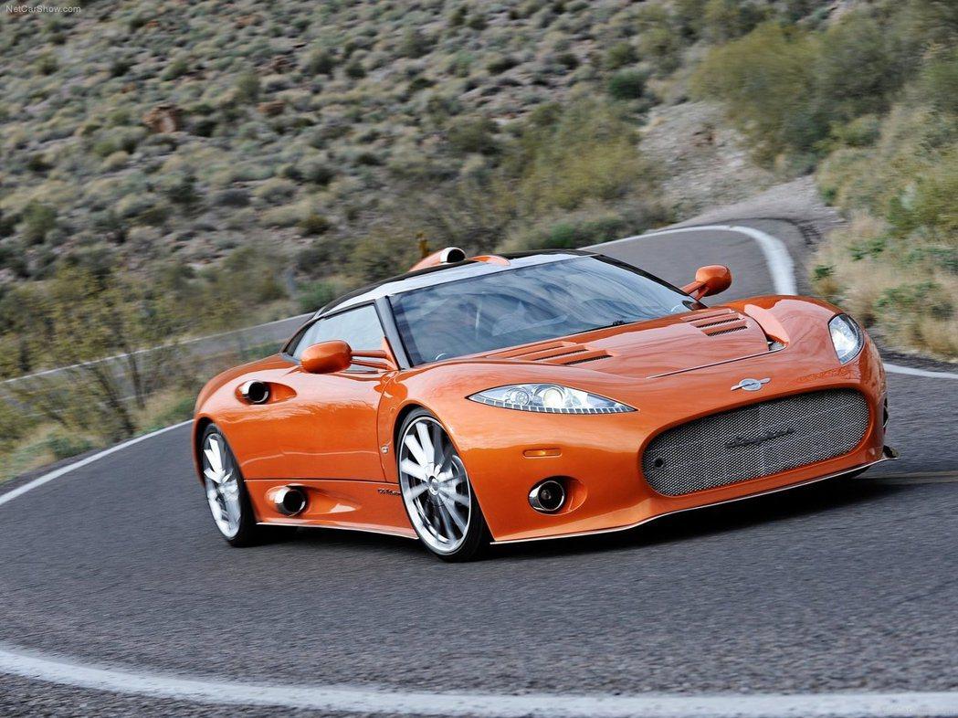 Spyker曾於國內販售C8 Aileron車型。 摘自Spyker.com