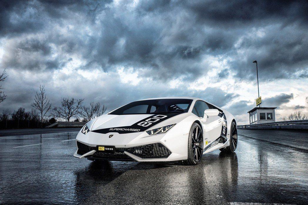 O.CT Tuning針對Lamborghini Huracan推出更強悍的性能版本。 摘自O.CT TUNING