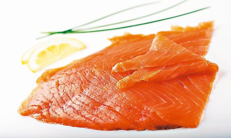 煙燻鮭魚。取自金融時報
