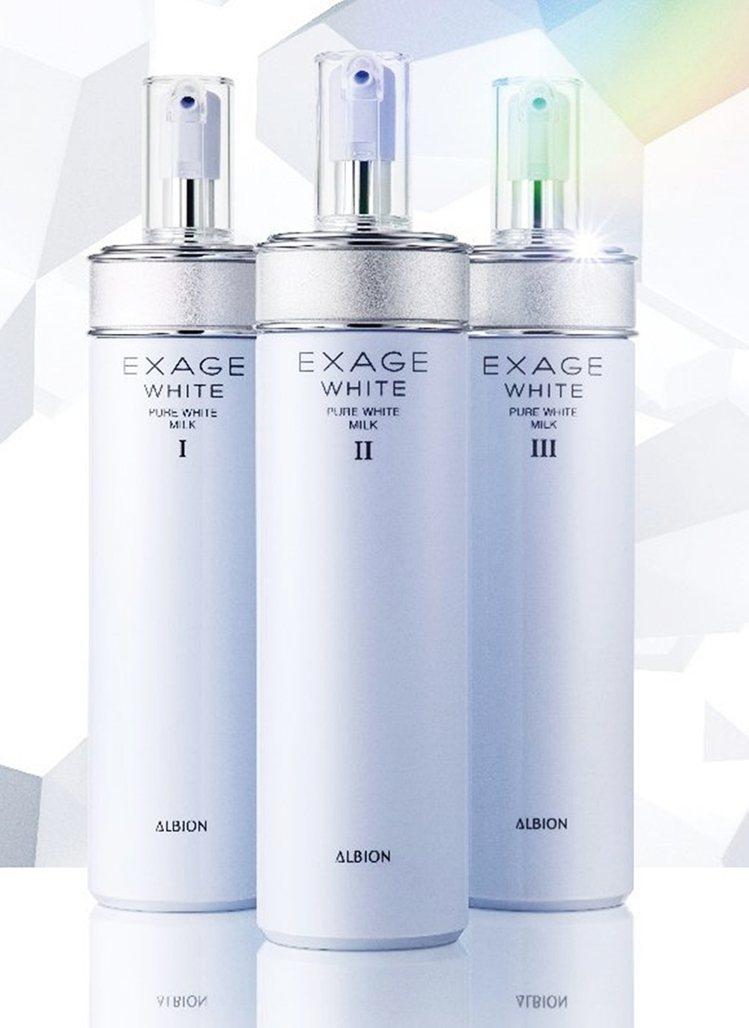 ALBION活潤透白新晶能滲透乳,針對不同膚質設計3款質地,200g/1,980...