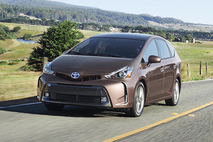 Toyota Prius V獲得旅行車性價比第一。 Toyota提供