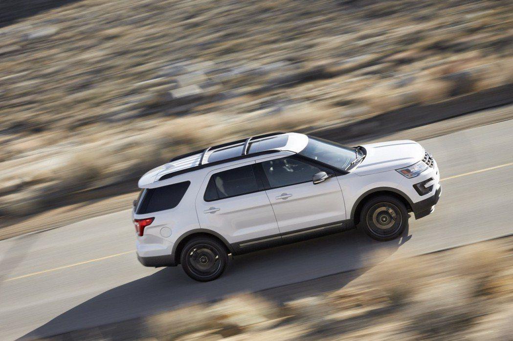 Explorer XLT Sport採用3.5升V6自然進氣汽油引擎,可提供290hp的最大馬力。 摘自Ford.com