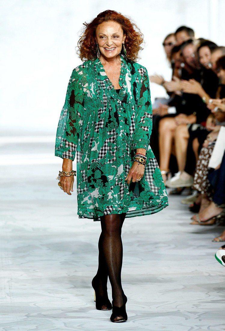 Diane von Furstenberg認為服裝秀提早六個月發表,讓大家累得人...