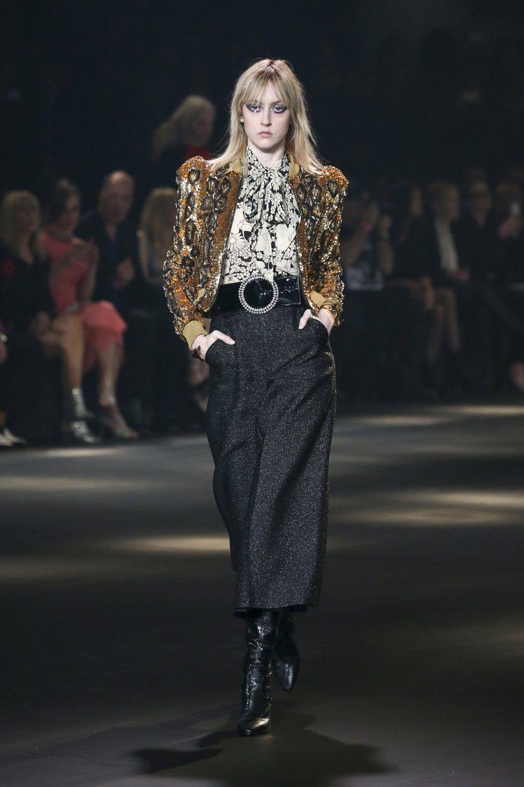 Saint Laurent選在洛杉磯發表秋冬新裝,打破只在巴黎時裝周發表新裝的成...