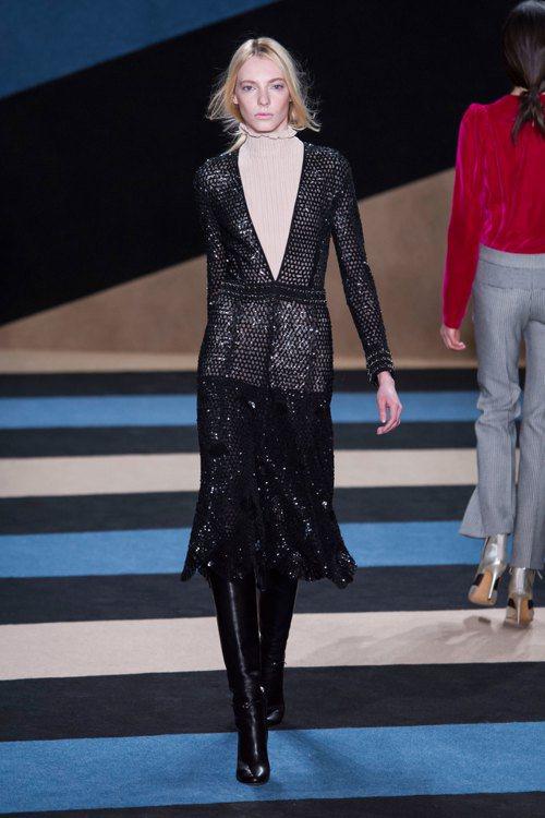Derek Lam本季讓復古氛圍轉變成符合當代服裝美學觀點,顏色用得極為純粹、乾...