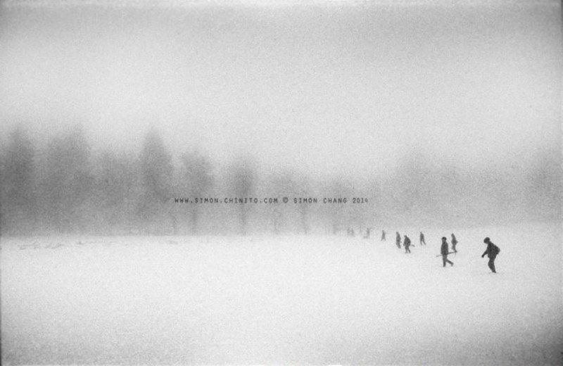 《遠方的獵人》黑白攝影系列 捷克波希米亞2005 張雍