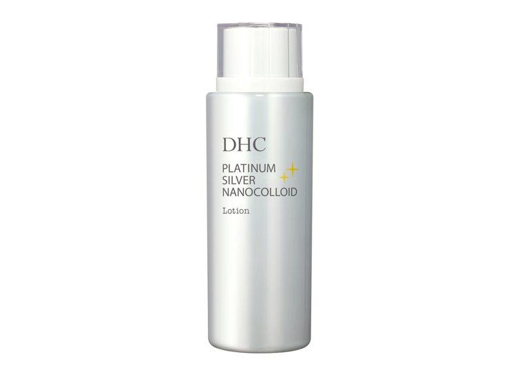 DHC白金N次方恆采化妝水,加入奈米化的白金與白銀,並加入橄欖葉精華、紫蘇精華等...