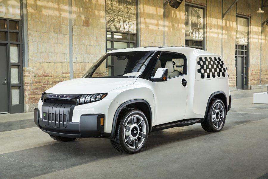 Toyota發表一台經過市場調查而為年輕買家設計的都會多功能車款U2 Urban Utility 概念車,創意十足,一車三用,更有為買家設計超強的數位功能。 圖/Toyota提供