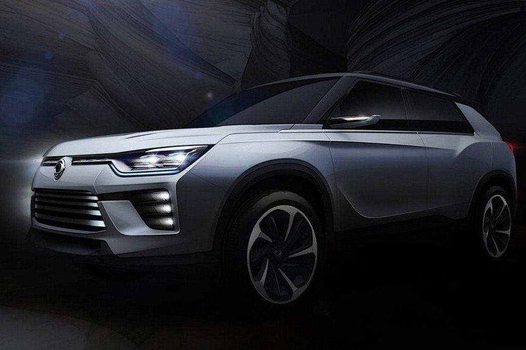 近日Ssangyong原廠發布一款車身尺碼比Tivoli略大的SIV-2 Concept概念車,並預告日內瓦車展上亮相。 摘自Ssangyong.com