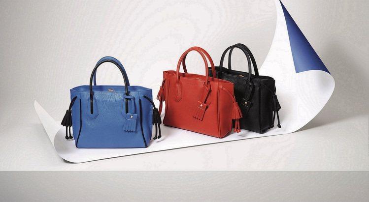 Longchamp Penelope小潘包賣翻天,春夏加碼推出亮眼新色。圖/Lo...