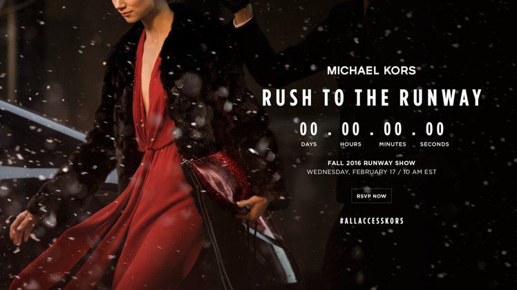 MICHAEL KORS本周在紐約登場的秋冬時裝秀,推出看完秀就買得到的新服務。...