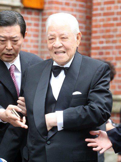 前總統李登輝。 記者曾吉松/攝影
