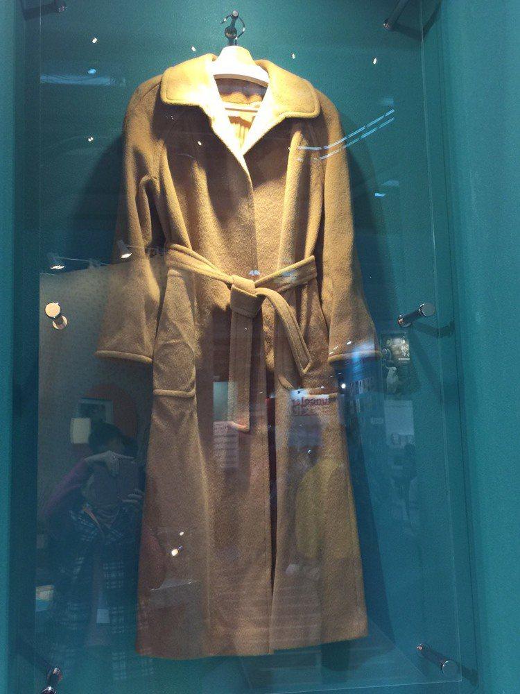 「張愛玲展」上的服裝遺物,風格素雅。陶福媛/攝影