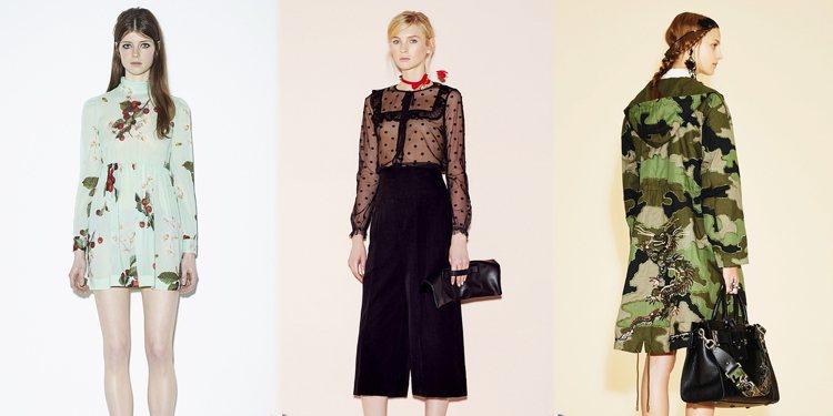 黑白、蕾絲、刺繡!春天穿上它就對了。圖/品牌提供
