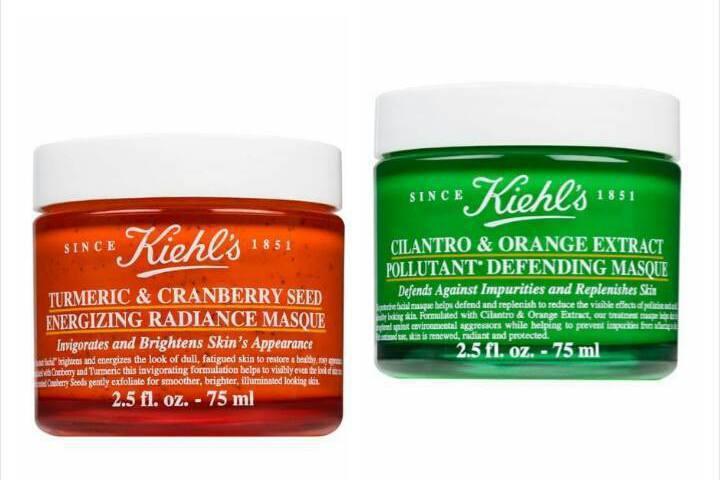 Kiehl's莓果薑黃精萃亮面膜,內含蔓越莓精萃、薑黃精萃,擦上這一瓶可以活化肌...
