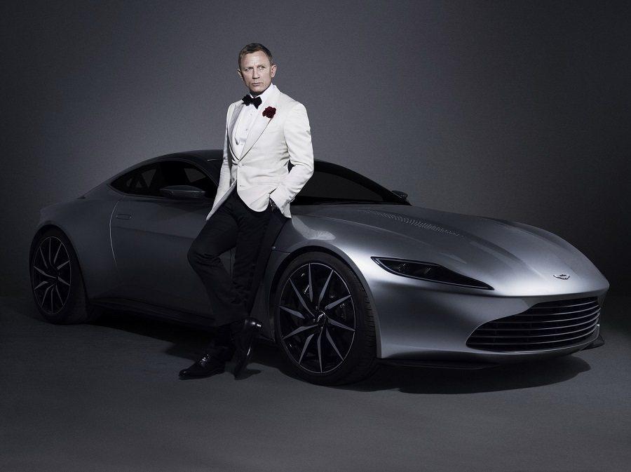 DB10較具侵略性的外型帶來近似於概念車的意象。 電影劇照