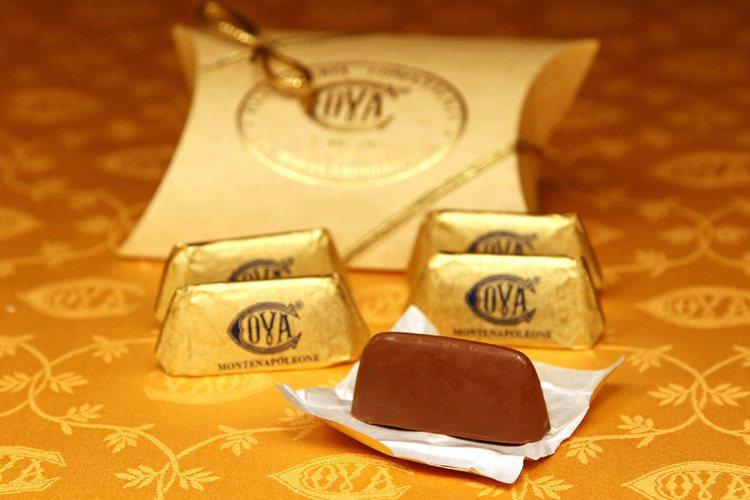 Gianduiotti 金磚巧克力。圖/COVA提供