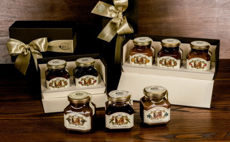 榛果巧克力醬也非常受到歡迎。圖/COVA提供