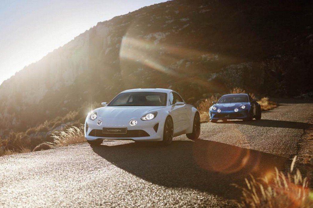 Alpine Vision概念車將採用1.8升渦輪增壓汽油引擎,提供250hp及300hp以上的性能輸出。 摘自Reuault.com