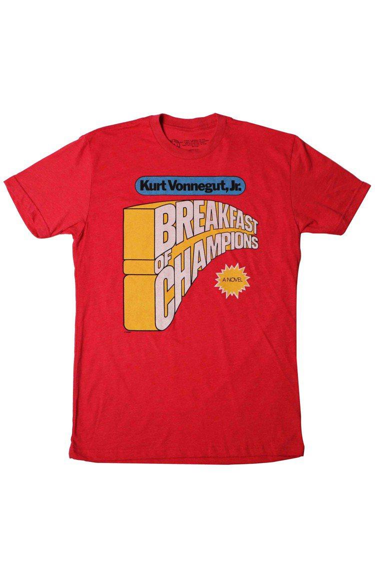 Out of Print冠軍的早餐T恤,售價1,680元。圖/初衣食午提供