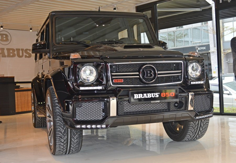 G850車身也了改造加了Widestar寬體套件,使車身看來更寬大。