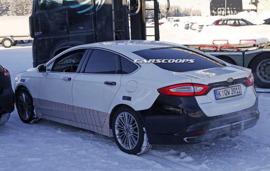新的Mondeo將會跟隨美規Fusion的腳步進行變更。 摘自carscoops.com