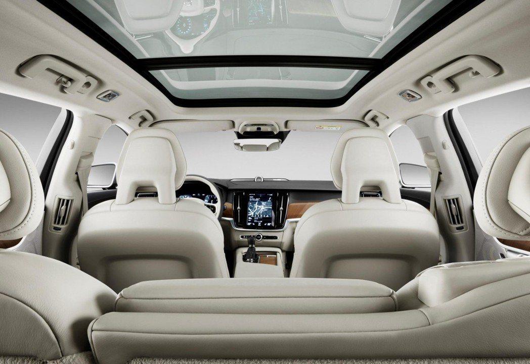 V90的乘坐感受大幅提升。 圖/Volvo提供